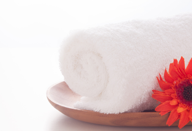 Hot towel (OSHIBORI)